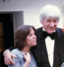Carrie wishing her father luck as he left for the 1977 Oscar ceremony. The night he finally won!